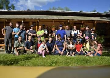 Letní brigáda na Březůvkách (06/2020)