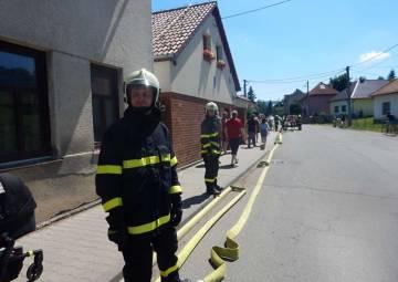 Taktické cvičení JSDH v Želechovicích nad Dřevnicí (07/2020)