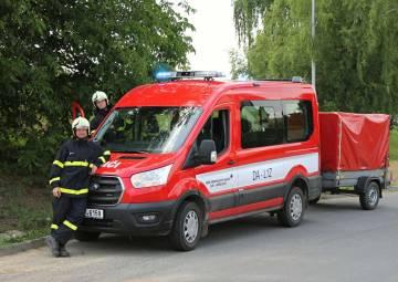 Taktické cvičení JSDH v Želechovicích nad Dřevnicí 2021 (06/2021)